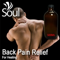 Essential Oil Back Pain Relief - 500ml